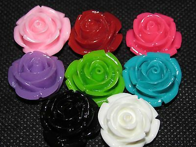 Small Rose Lapel Pin Flower for Men - Assorted Colors!