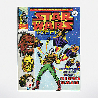 STAR WARS WEEKLY - No. 18 ( UK / 1978 ) ***VERY GOOD CONDITION***