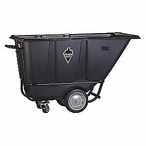 TOUGH GUY Tilt Truck,HD,1/2 cu. yd.,1400 lb., 21VK33