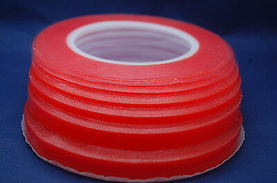 Red Highly Strong Double Sided Transparent Tape for Mobile Phones and Craft
