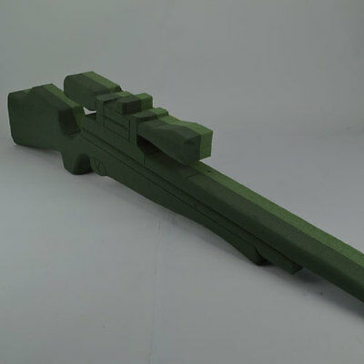 Floral Foam Air Rifle With Telescopic Sight Funeral Memorial Oasis Type Sku 2504