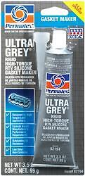 Permatex 82194 Gasket Sealer; Ultra Grey (R); Squeeze Tube; 3.5 Ounce