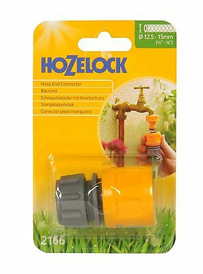 Hozelock 2166 Hose End Connector - Fit to Water Tap Quality No Leaks Quick Click