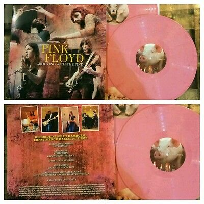 PINK FLOYD grooving with the Pink (live in Hamburg)3lp coloured Limited edition