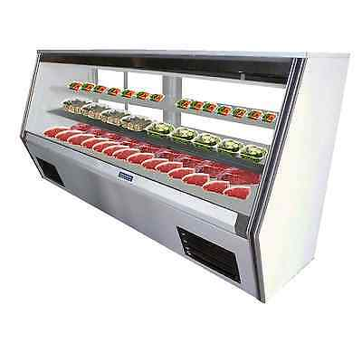 """Coolman Commercial Refrigerated High Deli Meat Display Case 117"""""""