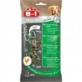 8in1 Friandises éducatives Training Pro Learn pour chien 100 g