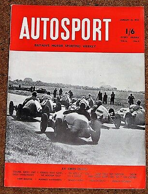 Autosport 16/1/53 - 1952 F3 SEASON REVIEW - MONTE CARLO RALLY PREVIEW - LOMBARD