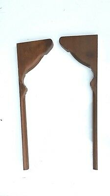 Vintage Corbels Entryway Mantles Mantels Shelves Interior Decor Wooden Brackets