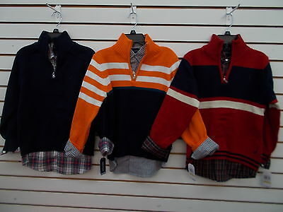Boys Nautica $59.50 2pc Assorted Sweater Sets Size 10/12 - 18/20