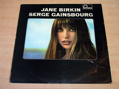Jane Birkin & Serge Gainsbourg/Self Titled/1969 Fontana Stereo LP