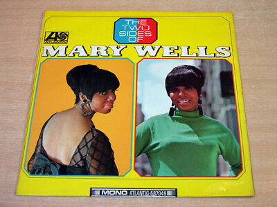 Mary Wells/The Two Sides Of/1966 Atlantic Mono LP/Plum Label
