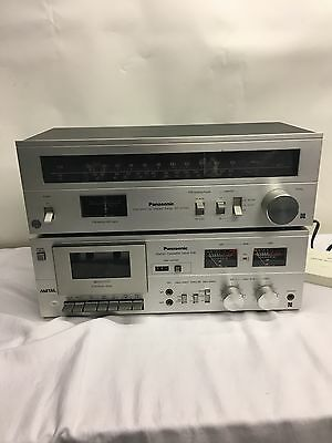 PANASONIC RS-619 CASSETTE DECK LW STEREO TUNER ST-2700L item code  (P24)