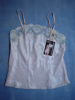Vintage Maidenform 94203 A La Carte Woven Satin Camisole Size 32 in Pink
