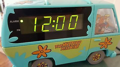 1999 Vintage Scooby-Doo Mystery Machine Westclox Digital Alarm Clock Nightlight