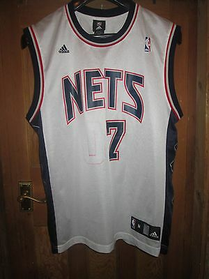 New Jersey Nets Basketball Vest Jersey Jones 07,adidas,medium Adult,nba,