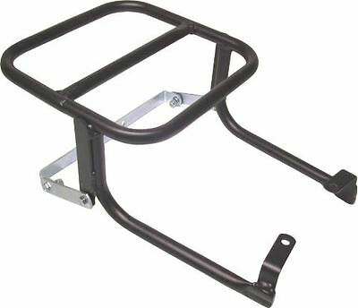 Universal rear rack for delivery scooters on small motorcycles