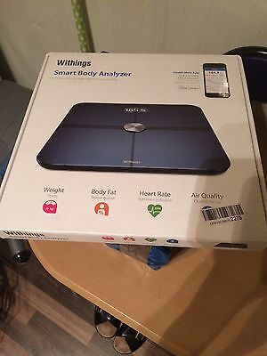 Withings Smart Body Analyzer Ws-50 Black Bnib