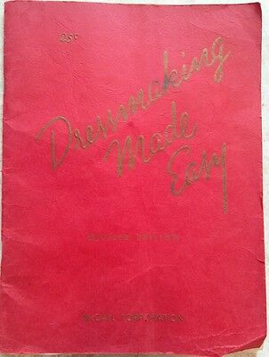 Vintage 1944 Dressmaking Made Easy Book - Revised Edition - McCall Corporation