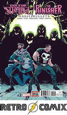 Marvel Doctor Strange Punisher  Magic Bullets #2 First Print Bagged & Boarded