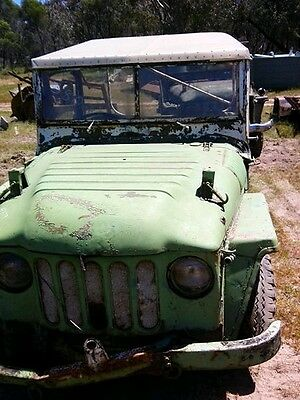2 Austin champ 1955 jeeps suit parts or restore