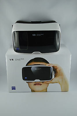 "ZEISS VR ONE+ Virtual Reality Headset für Smartphones 4,7 bis 5,5"" 360° 3D Sicht"