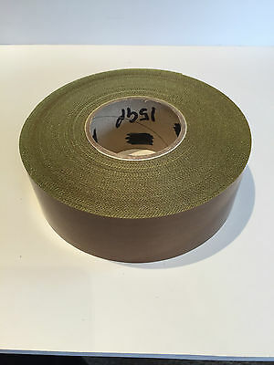 59mm x 30M x 5th Self Adhesive PTFE Glass Woven Tape Teflon NOS Sale Low Prices