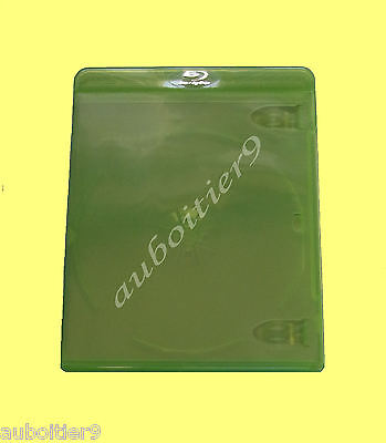 Boitier Blu Ray Simple Couleur Vert  ***** Neuf