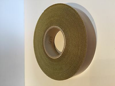 38mm x 30M x 5th Self Adhesive PTFE Glass Woven Tape Teflon NOS Sale Low Prices