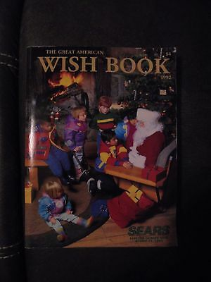 Vintage Sears Catalog 1992 Christmas Wish Book - Excellent!