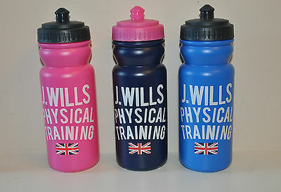 New Jack Wills Water Bottle - Navy Pink or Blue