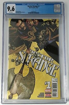 DOCTOR STRANGE 1 (2015) CGC 9.6 NM+ Not 9.8 Bachalo Cover - Movie!