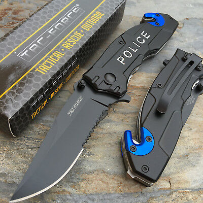 TAC-FORCE Police Tactical Hunting Survival Camping Rescue Pocket Knife