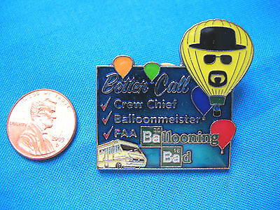 New 2016 Albuquerque Ballooning Bad Pin w/ Breaking Bad/ Better Call Saul Theme