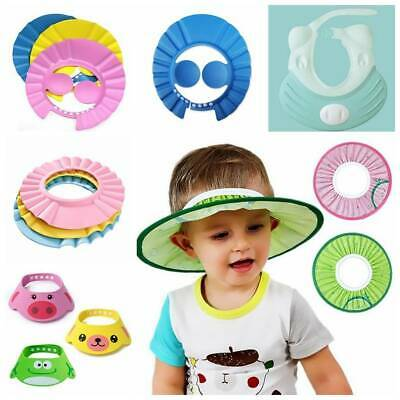 Baby Soft New Wash Hair Shield Bathing Shower Cap Hat