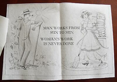 Tri Chem liquid embroidery man's work 8360 ready to paint vintage NOS