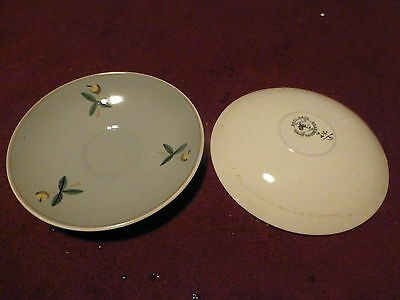 2 Vintage Hand Made And Hand Decorated (G/h.c) Poole Pottery Saucer Plates
