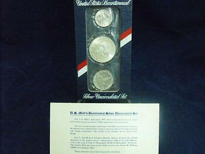 UNITED STATES BICENTENNIAL SILVER COIN SET 1976 S  (c201540)