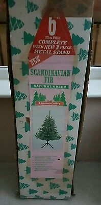 6 foot tall artificial christmas tree