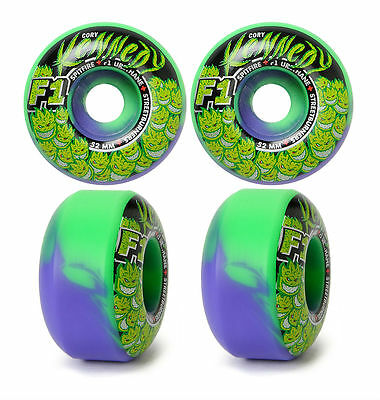 Spitfire Wheels Kennedy 52mm Trunk Kush Streetburner Skateboard Tyres