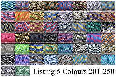 Paracord 550 x 100 Foot CHOOSE FROM 300 COLOURS! GENUINE 7 STRAND PARACORD! 5
