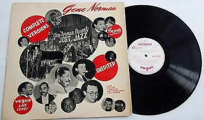 Gene Norman Justjazz Rare Vogue Lp Complete Versions Many Top Artists Circa 1958