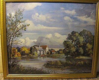 """A """"the Old Mill"""" Framed  Print By """"max Hofler"""".."""