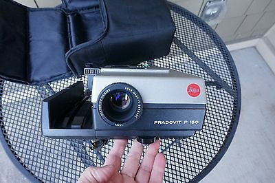 A+ Pradovit P 150 Slide Projector Leica Hektor-P2 85mm f/2.8 Lens Soft Case