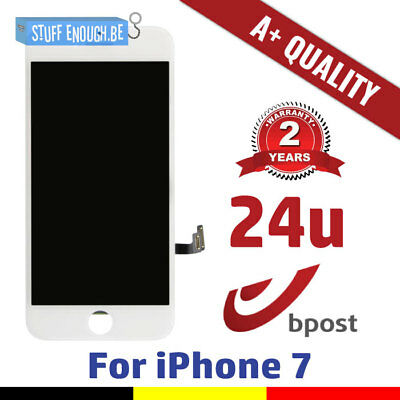 Iphone 7 Aaa+ Lcd Touch Screen Vitre Tactile Display/scherm/écran White