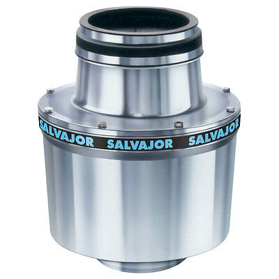 Salvajor 100 Commercial Garbage Disposer with 1 HP Motor NEW