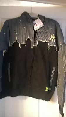 Bnwt Boys New York Yankees Glow In The Dark Zip Up Jacket Fantastic