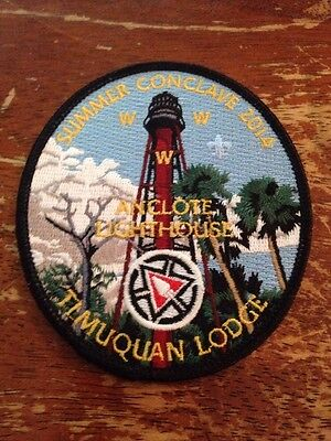 Timuquan Lodge #340 2014 Summer Conclave Anclote Lighthouse OA C74