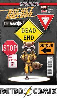 Marvel Now Rocket Raccoon #2 First Print New/unread Bagged & Boarded
