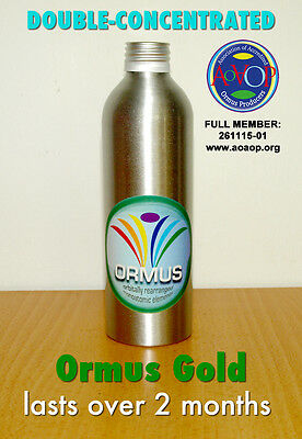 Ormus Gold: double-concentrated monoatomic supplement (250 ml)