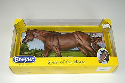 New BREYER 1737 Don't Look Twice - Retired Traditional Roxy Quarter Horse NCHA